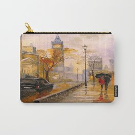 Snow in London Carry-All Pouch