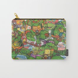 Vintage Comic Teenage Mutant Hero Turtles (Updated) Carry-All Pouch