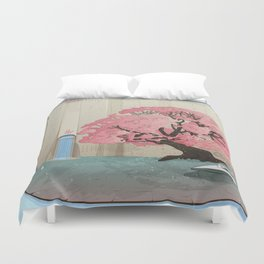 The Lands of Demos Duvet Cover