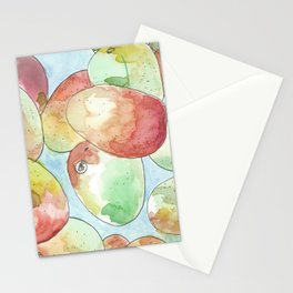 away in a mango Stationery Cards