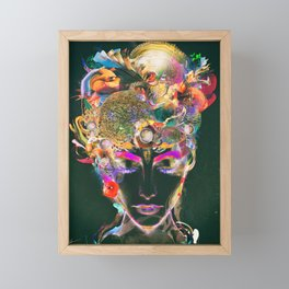 Mahalaya Framed Mini Art Print