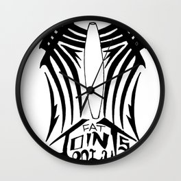 Fat Joints Only Wall Clock