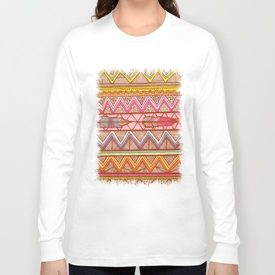 Two Feathers... Long Sleeve T-shirt
