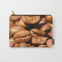Roasted coffee beans macro Carry-All Pouch