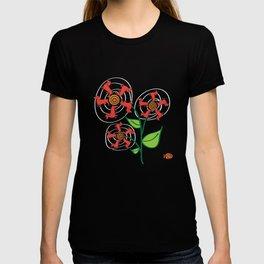 Doxie Flower - Dachshund Dog - Weiner Dog - Weenie Dog T-shirt