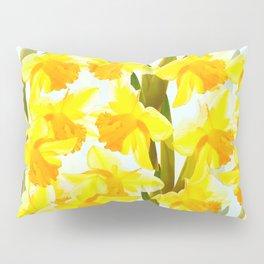 Spring Breeze With Yellow Flowers #decor #society6 #buyart Pillow Sham