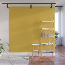 Mustard - Solid Color Collection Wall Mural