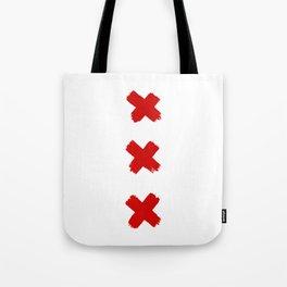 Amsterdam Crosses Tote Bag