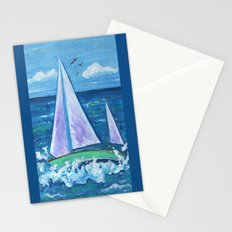 Sail Boat Stationery Cards