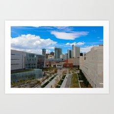 Denver, the real Sunshine State! Art Print