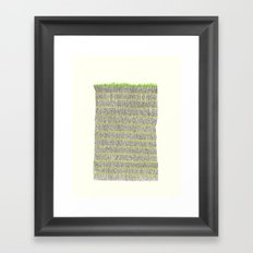 Tree Wall Framed Art Print