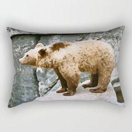 Bear Brother Rectangular Pillow