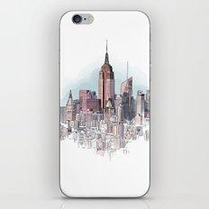 New York cityscape - Architectural illustration iPhone & iPod Skin