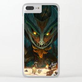Totemic Maokai League of Legends Clear iPhone Case