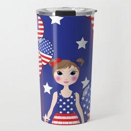 4th July Travel Mug