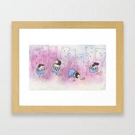 Hot Day Framed Art Print