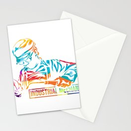 Industrial Mechanic Stationery Cards
