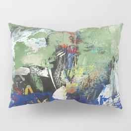 Finback Abstract Blue Green Pillow Sham