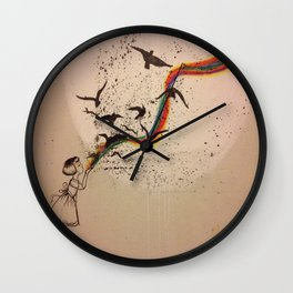 The Stain Wall Clock