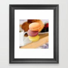 macarons Framed Art Print