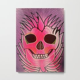 CRÁNEOS 41 Metal Print