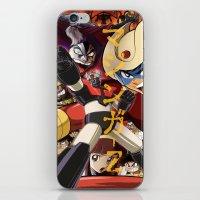 manga iPhone & iPod Skins featuring Manga 07 by Zuno