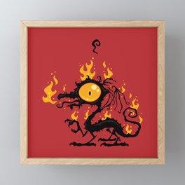 Backfire Framed Mini Art Print