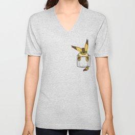 Pocket Teto (Fox Squirrel) Unisex V-Neck