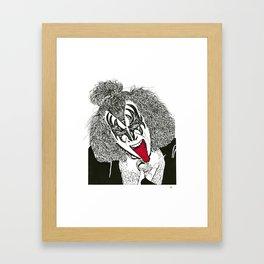 The Demon Framed Art Print