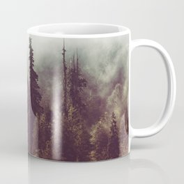 Mountain Morning Mist - Nature Photography Coffee Mug