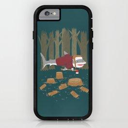 LumberJack Shark iPhone Case