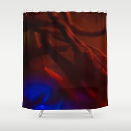 MACRO NEON TEA II Shower Curtain