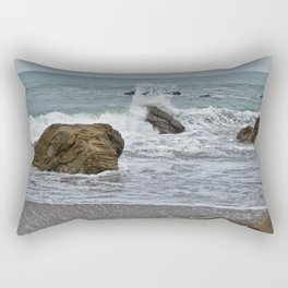 Crashing Rectangular Pillow
