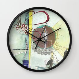 Exploration: Ornithology Wall Clock