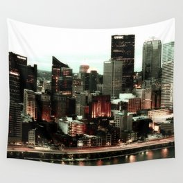 Steel City Wall Tapestry