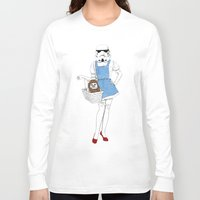 dorothy Long Sleeve T-shirts featuring Dorothy trooper by Cisternas