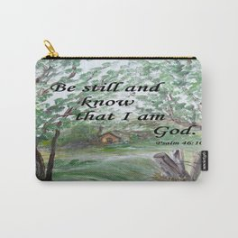 Be Still and Know Carry-All Pouch