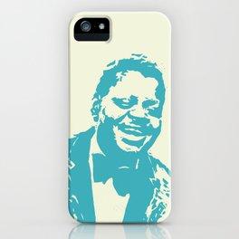 Oscar Peterson - Jazz - Woodcut iPhone Case