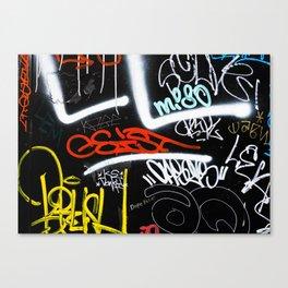 Tagged Canvas Print
