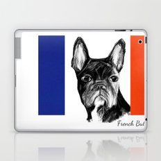 French Bulldog. The Totally French Version... Laptop & iPad Skin