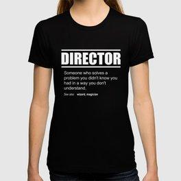 Funny Description Tee Director Edition T-shirt