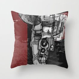 Dieter Rams In Space Throw Pillow