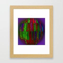 Cage Ball Framed Art Print