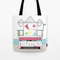 miami Tote Bags featuring Miami by Elena Éper