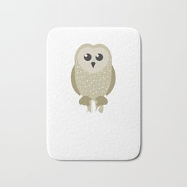 Adorable I Just Freaking Love Owls Ok? Bath Mat