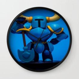 """""""Shovel Knight"""" Wall Clock"""