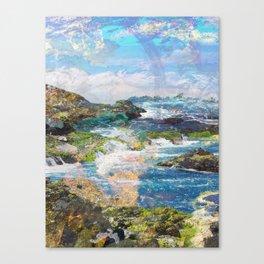 Coastlines Canvas Print