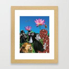Infectious Affection Framed Art Print