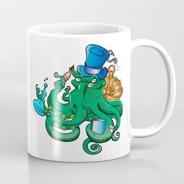 illustration of Steampunk octopus Coffee Mug