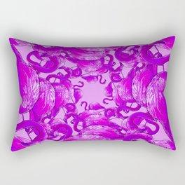 Flamingo Vector Rectangular Pillow